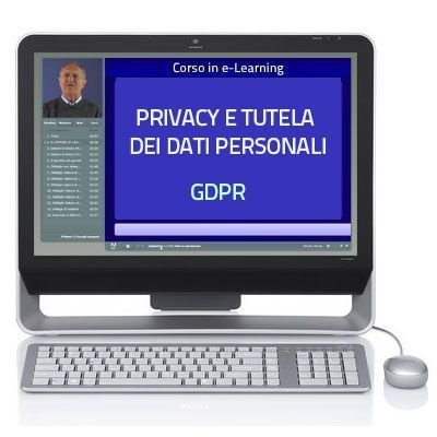 Privacy GDPR - Tutela dei dati personali e Cyber security - 3 ore